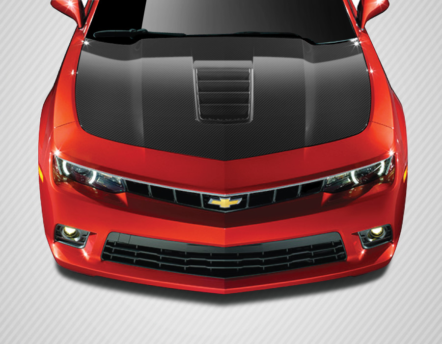 Camaro Carbon Fiber Hood